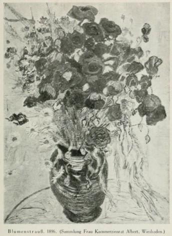 Historischer Blumenstrauß